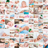 Newborn babies photos — Stock Photo