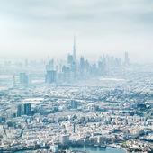 Panoramic views of Dubai — Stock Photo