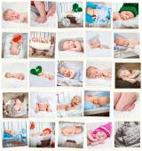 Newborn babies photos — Stockfoto