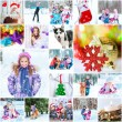 Winter theme  with family — Zdjęcie stockowe #57734651