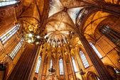 Katedrála v barceloně — Stock fotografie
