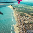 View from the plane — Stock Photo #58612845