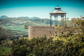 Viewpoint in Ronda — Stock Photo