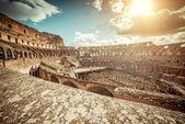 Coliseum interior — Stock Photo