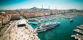 Sea-port of Marseille — Stock Photo