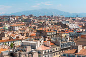 Areal view on Marseille in  France — Stock Photo