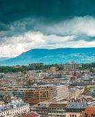 View of Geneva Old Town — Stock Photo