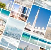 Photo from Dubai and Abu Dhabi — Stock Photo