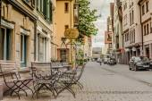In the old streets of Ulm — Stock Photo
