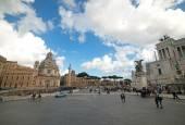 Victorian in Rome — Stock Photo