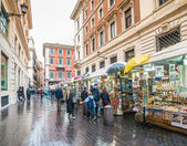 Traditional Market on  Rome — Stock Photo