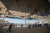 Norman Foster's pavilion  — Foto Stock