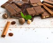 Variety of tasty chocolate — Stock Photo