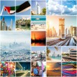 Collage of photos from Dubai — Stock Photo #66602213