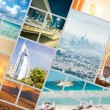 Collage of photos from Dubai — Stock Photo #66602389