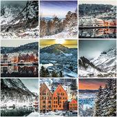 Photos from Bergen, Norwegia — Stock Photo