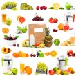 Fruits and juices — Stock Photo #69725855