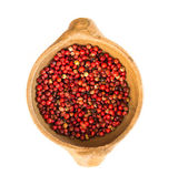 Pink peppercorn food — Stock Photo