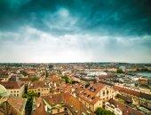 View of Geneva Old Town — Foto de Stock