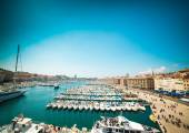 Sea-port of Marseille. France — Stock Photo
