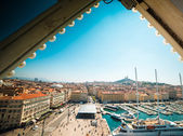 Old sea-port of Marseille, France — Stock Photo