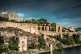 Medieval town in Spain — Stock Photo