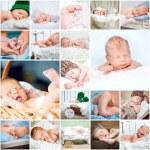 Photos of sleeping babies — Stock Photo #72078317
