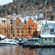 Historical part of the city. Bergen, Norway — Stock Photo #78832186