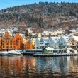Historical part of the city. Bergen, Norway — Stock Photo #78832200