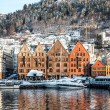 Historical part of the city. Bergen, Norway — Stock Photo #78832210
