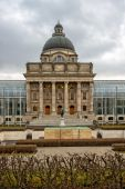 Bavarian State Chancellery building in Munich — Stock Photo
