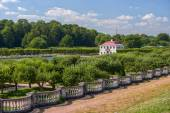 Marly palace in Peterhof garden — Stock Photo