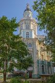 Tower of Kunstkamera museum in St. Petersburg — Stock Photo