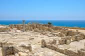 Ruins of an early Christian basilica on Cyprus — Stock Photo