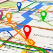 New York navigation subway map — Stock Photo #65926133
