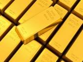 Gold ingots — Stock Photo