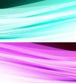 Wavy background — Stock Vector