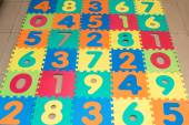 Children's play mat. Isolated — Photo