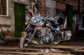 Custom motocycle — Stockfoto