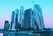 Moscow-city (Moscow International Business Center)  — Стоковое фото