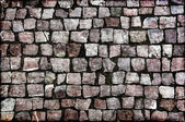 Paving stones street — Stock Photo