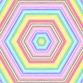 Bright color lines pattern — 图库照片