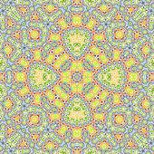 Brillantes colores de fondo con patrón abstracto — Foto de Stock