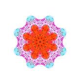 Abstraktní barvy tvaru — Stock fotografie