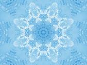 Abstract ice pattern — Stock Photo