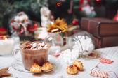 Kopp choklad — Stockfoto