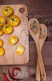 蔬菜和香料 — 图库照片