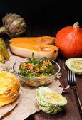 Ripe salad — Stock Photo