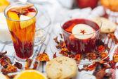 Hot drinks — Stock Photo
