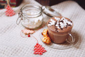 Cup of cocoa — Stock Photo